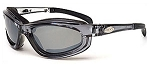 Curv Z Small Smoke Lens Crystal grey frame