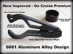 Black Aluminum Go Cruise