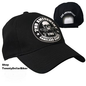 2nd Amendment Baseball Hat