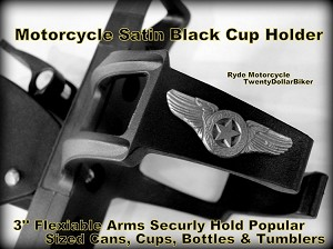 Motorcyle Cup Holder - Texas Star Wing